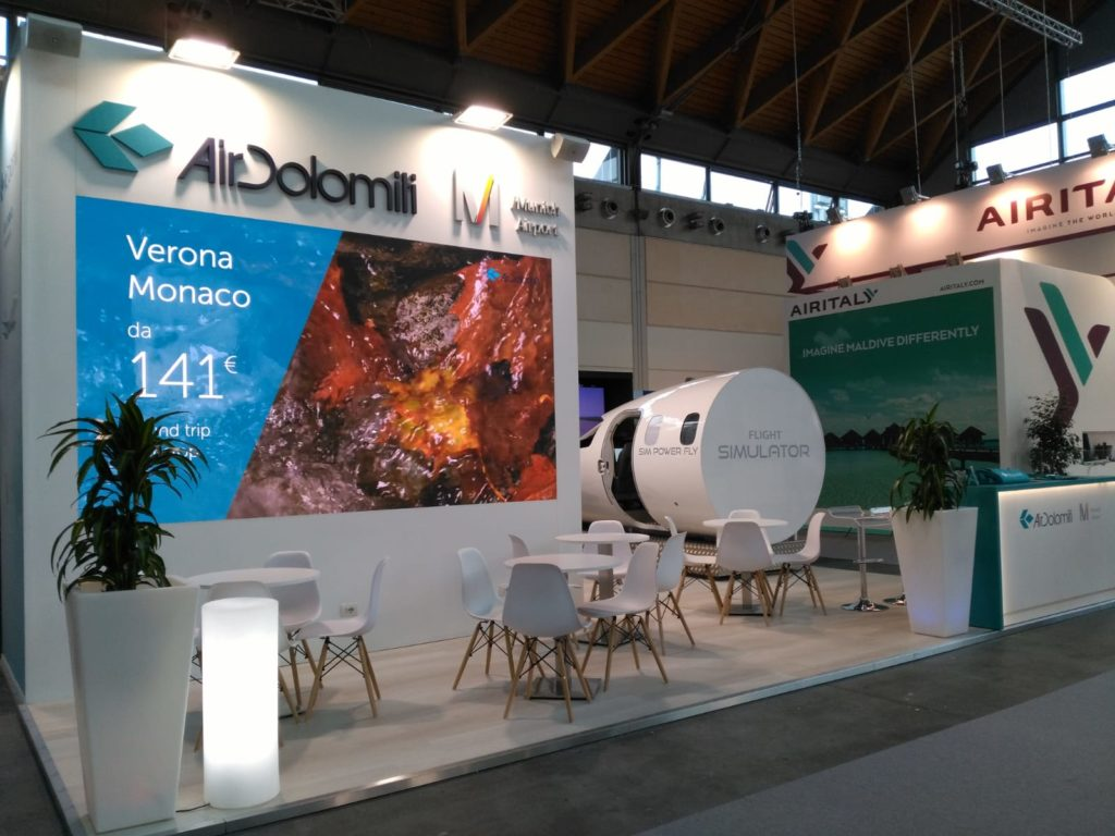 AIR DOLOMITI - TTG 2019