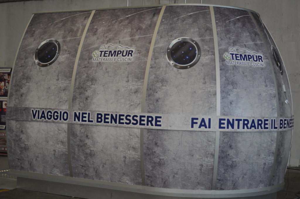 TEMPUR - prototipo corner